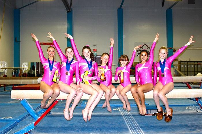Bowen Island gymnasts
