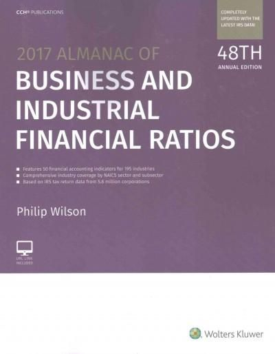 Almanac of Business and Industrial Financial Ratios 2017