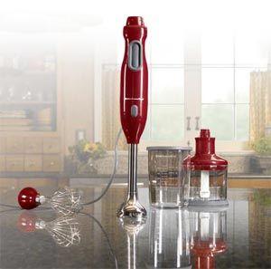 An Emersion Blender, Kitchen Aid, Empire Red