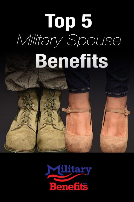 Military spouses face many challenges, but fortunately there are some benefits available that help to balance the scale. Continue reading at: https://militarybenefits.info/5-top-military-spouse-benefits/ U.S. Air Force illustration/Senior Airman Jaeda Tookes.