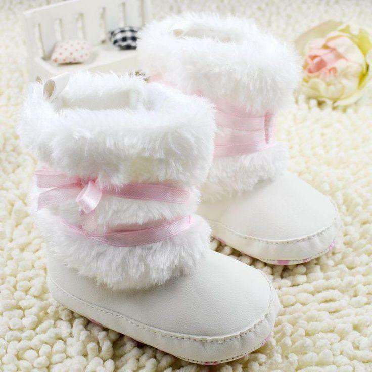 Winter Warm First Walker Baby Boots Anti-slip