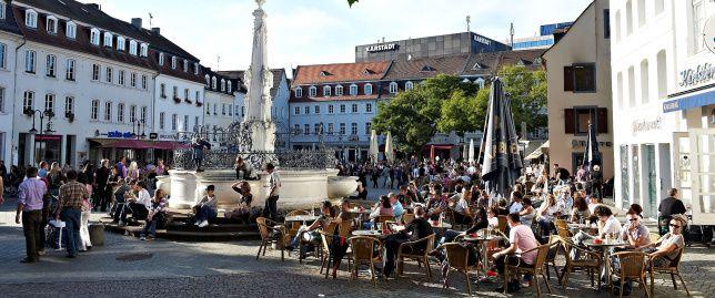 Marktplatz in Saarbrücken