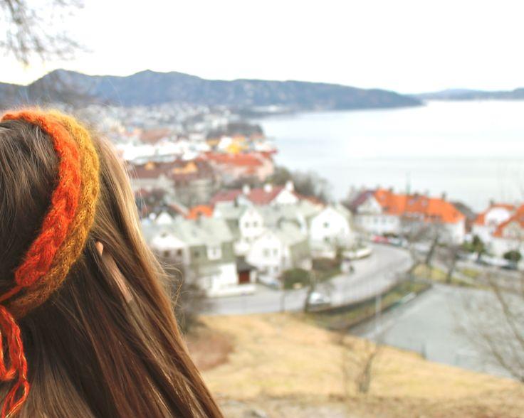 hårpynt strikk Bergen