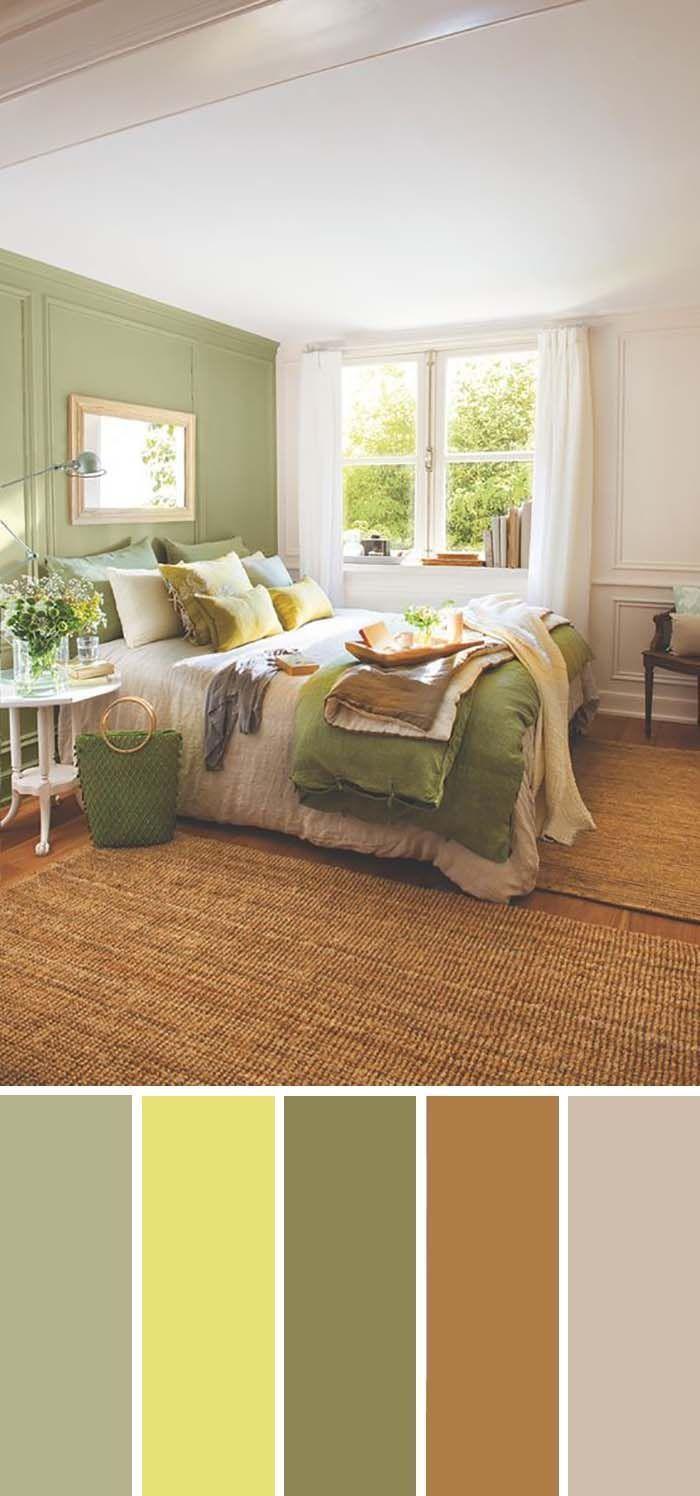 Hellgrun Schlafzimmer Farbschema Schlafzimmer Farbe Grun