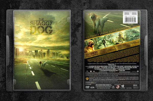 DVD Cover Design - Shaggy Dog by Xavier Lee, via Behance