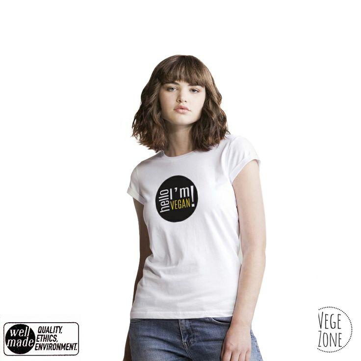 Hello, I'm vegan! http://vegezone.pl/15-koszulki