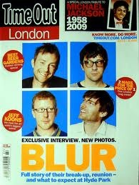 Blur - Time out London