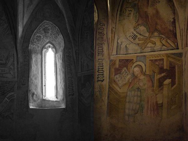 © 2012 Viviane Perenyi - Őrség Hungary Fresco Velemér Church