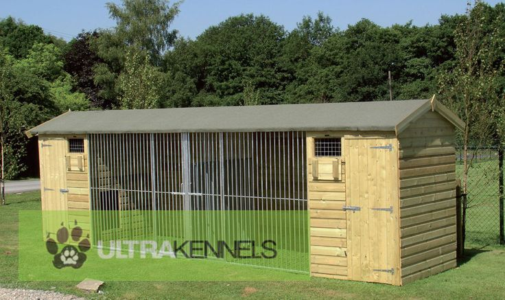 The Wymbury Double 21ft Wide x 5ft Deep Dog Kennel - £1,472.99 : Ultra Dog Kennels - kennel, kennels, kennel block, kennel blocks, dog kennel, dog kennels, dog kennel and run, dog kennel and runs, dog kennels and runs, dog run, dog runs, dog run panel, dog run panels, galvanised panel, galvanised panels, dog cabin, dog cabins, dog dryer, dog dryers, dog blaster, dog blasters, grooming table, grooming tables, wooden dog kennel, wooden dog kennels, wooden kennels and runs, wooden kennel and…