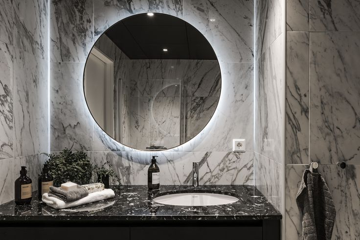 #styling #homestyling #bathroom #badrum Exklusiv nybyggd våning   Move2