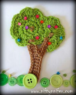Stunning Tree Motif ~ free pattern & tutorial
