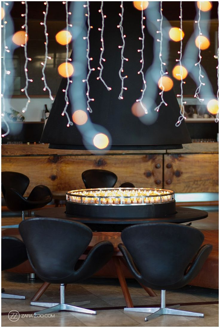 Black and Gold wedding decor and furniture