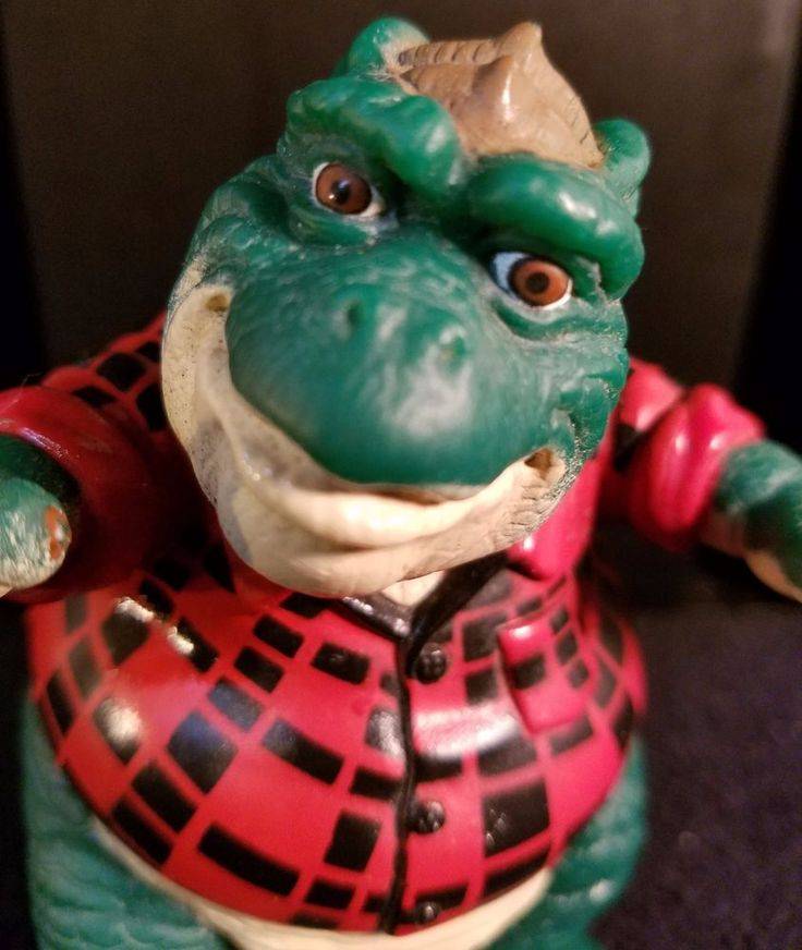 1991 Walt Disney Co. - Dinosaur's - Earl Sinclair - Action Figure #WaltDisneyCo