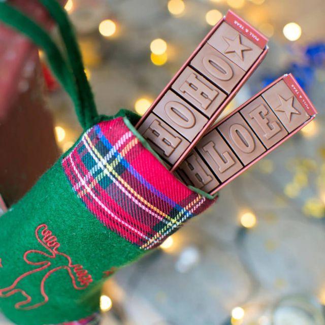 #notonthehighstreet #StockingFillers #personalised #chocolate