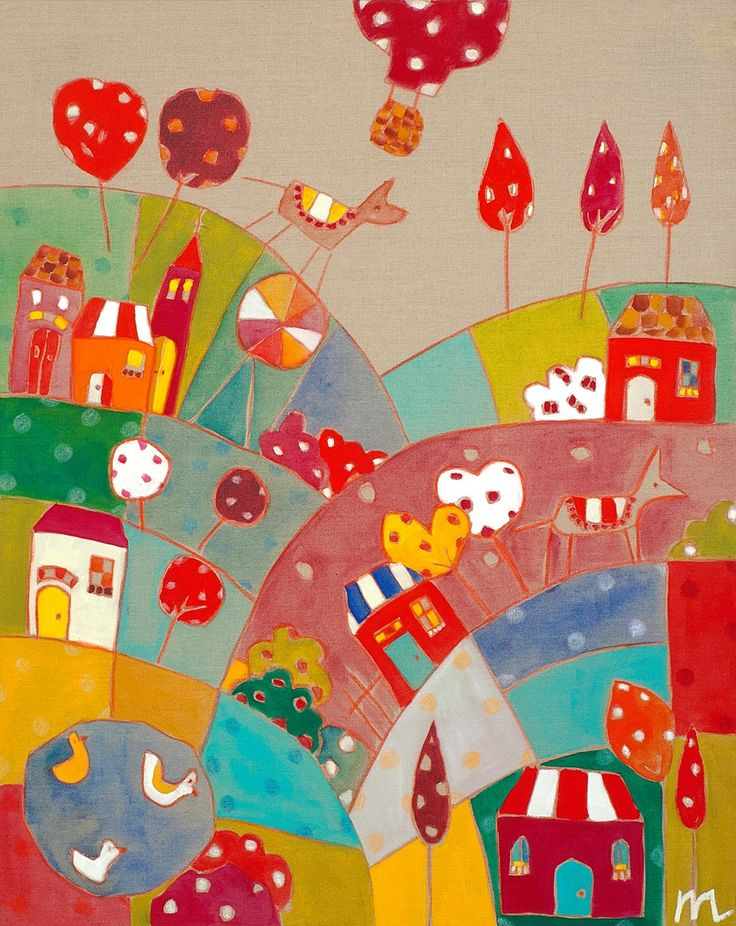 Meredith Gaston's enchanting 'Polka Dot Hills'