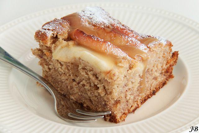 Kruidige appelcake met toffee