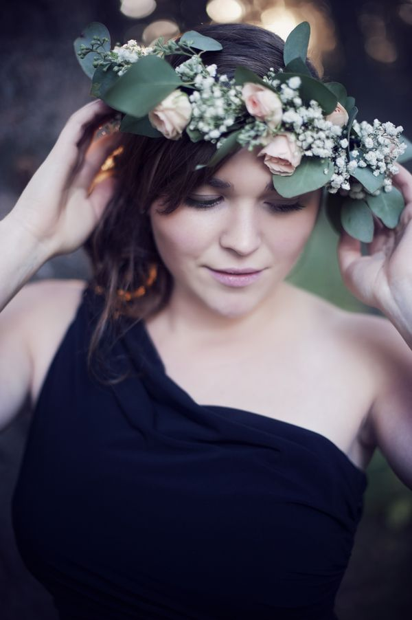 A Floral Engagement Shoot with a Dark Forest Theme   Shanna and Scott  @erinfriesen17 PIN ME I'M FAMOUS