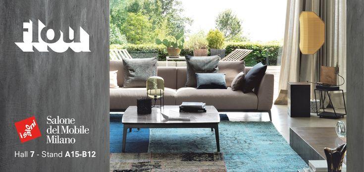 Modular sofa Olivier by Flou: versatility, comfort, unrivalled elegance