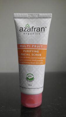 fashion confetti: azafran Multi Fruit Purifying Facial Scrub
