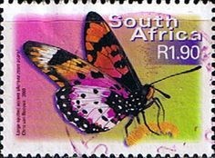 South African postage stamp