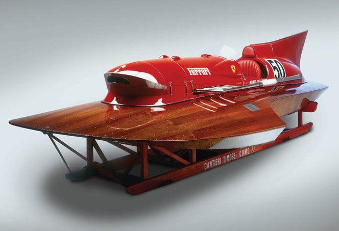 The Ferrari hydroplane