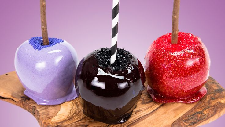 How to Make Candy Apples Two Ways (Traditional Candy Apples and Jolly Ra...