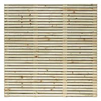 Grange Contemporary Fence Panels 1.79 x 1.8m 10 Pack