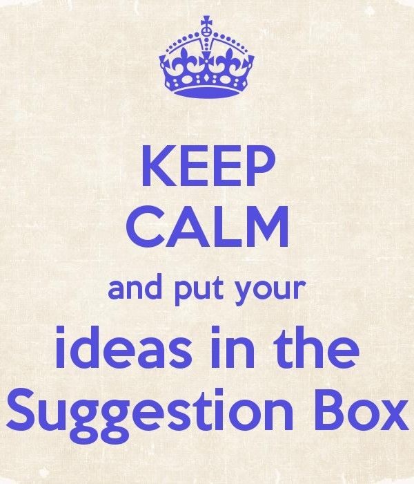 10 best Suggestion box images on Pinterest Advice box - employee suggestion forms