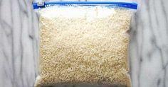 Rýže pouze na vaření? Omyl! Geniální způsoby jak jí využít ve vaší domácnosti!