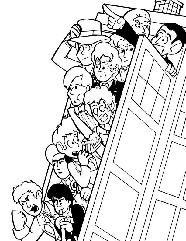 doctor coloring pages pinterest - photo#19