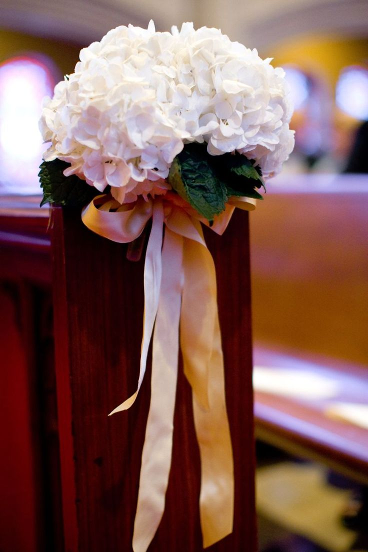 26 Best Images About Wedding Church Pew Decoration On
