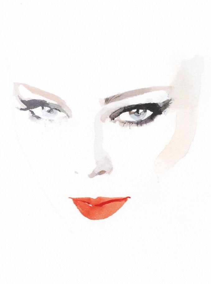 // — Coco Rocha by David Downton