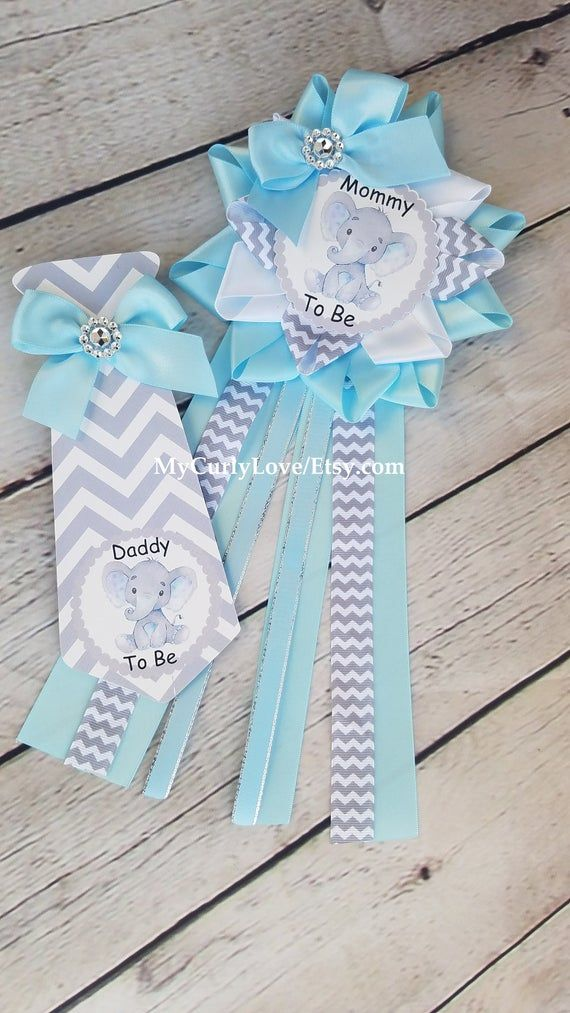Boy Elephant Baby Shower Mommy To Be Pin Elephant Mommy To Be