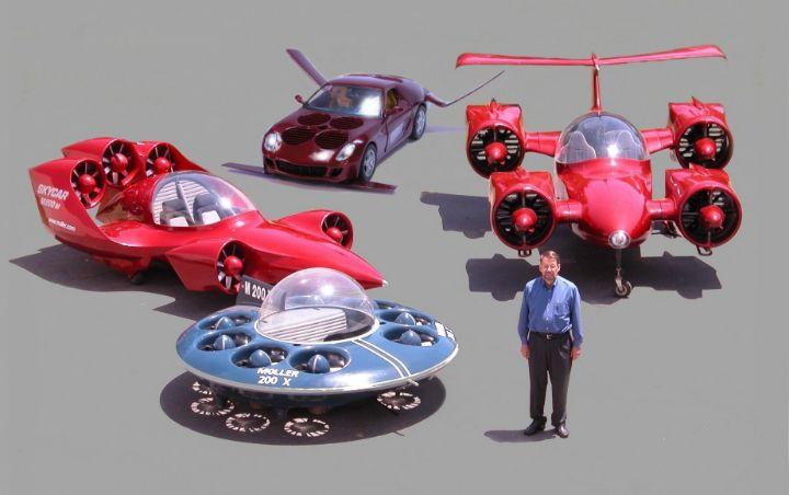 Китайцы инвестируют миллиарды влетающий автомобиль Skycar