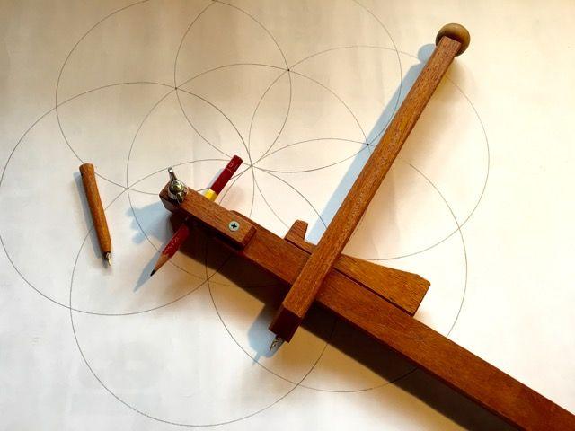 昔のコンパス ぶんまわし を手作りしてみました 手作り 作る 木工