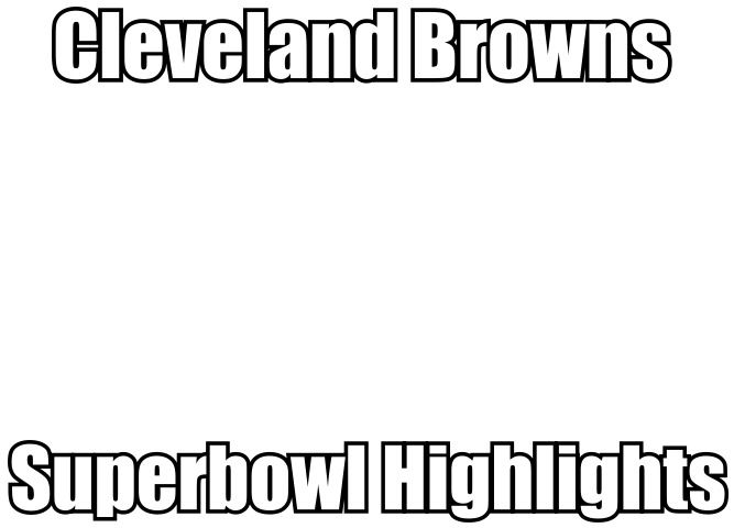 Cleveland Browns Meme