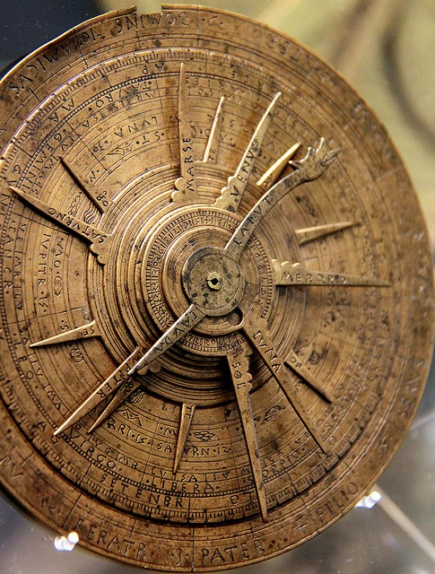 Astrolabe - Museum of the History of Science, Oxford, England.