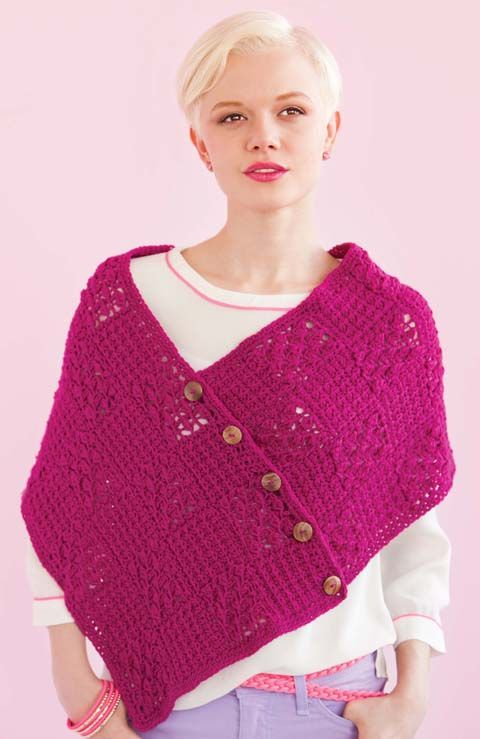 90 Best Crochet Poncho Amp Shawls Images On Pinterest
