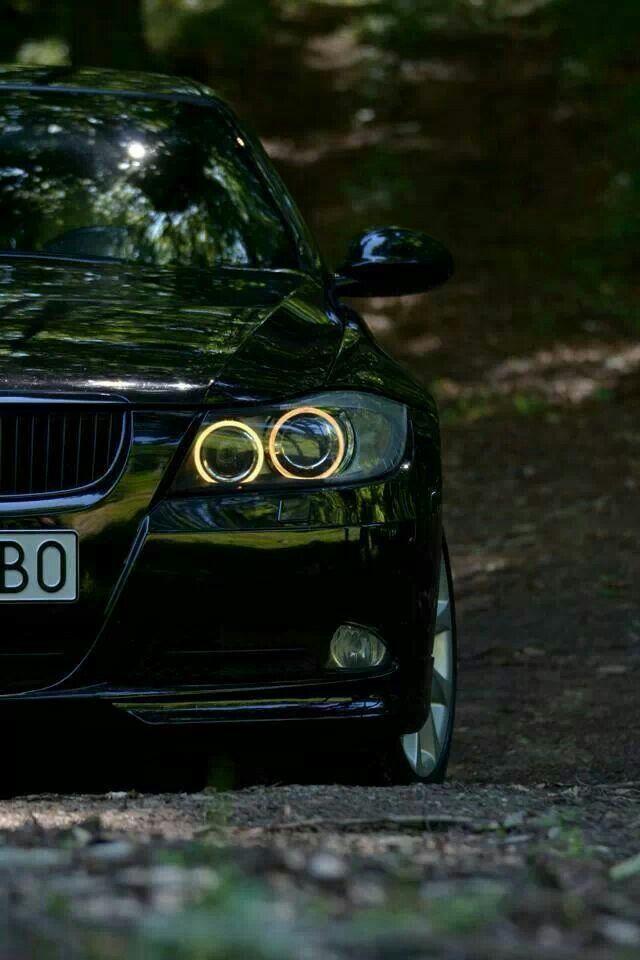 BMW E90 3 series black