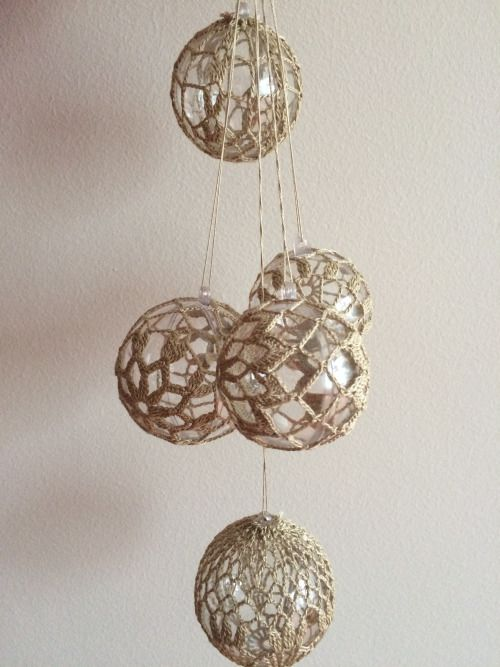 Vianočné ozdoby  #christmas #crochet #diy