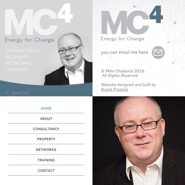 Brand Promise had the pleasure of branding & designing a website for Mike Chadwick, check it out here: http://www.Mc-4.uk