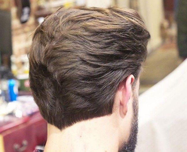 Le Dégradé à La Nuque Tapered Hair Hair Beard Styles