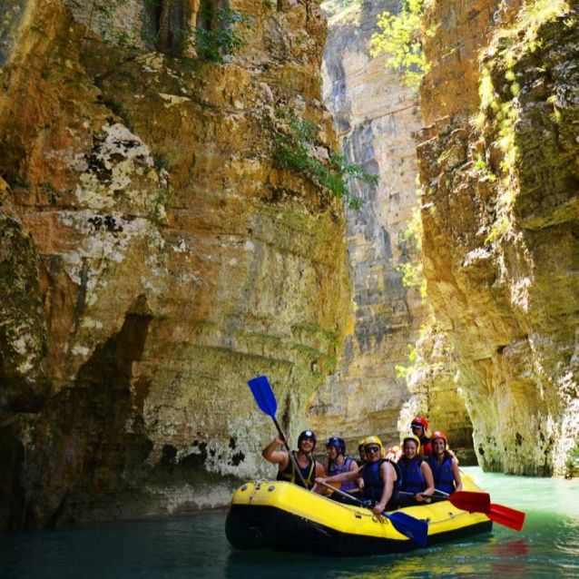 Albanian  whitewater  experience  Although a small country, Albania is home to a large number of impressive rivers. The ne...