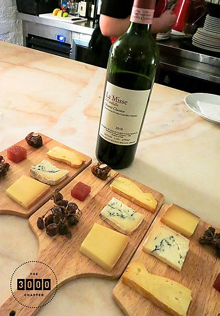 Cheese platter at Bar Lourinhã in Melbourne, Australia. #cheese #wine