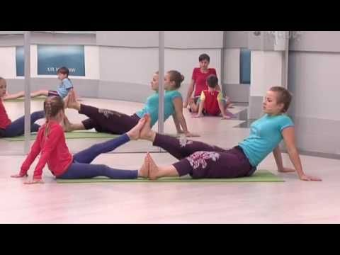 Family yoga for children and adults
