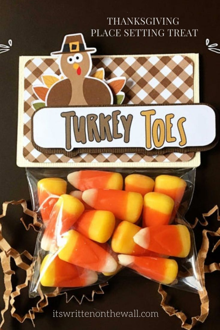 Thanksgiving Turkey Toes, Table Decor, Place Setting, Candy Corn