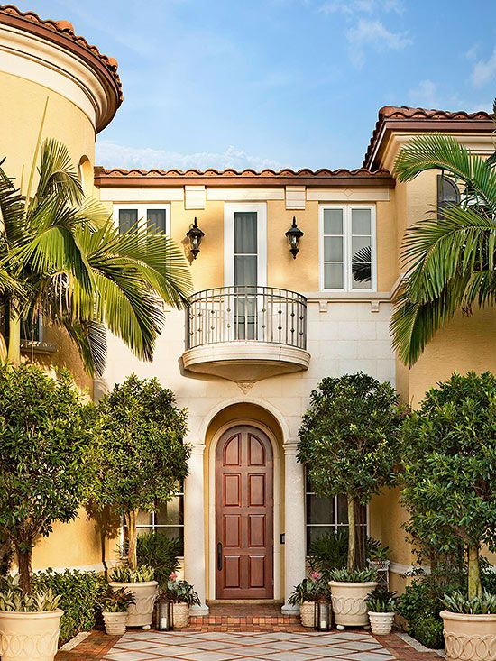Exteriors housing styles explained exterior colors for Spanish revival exterior paint colors