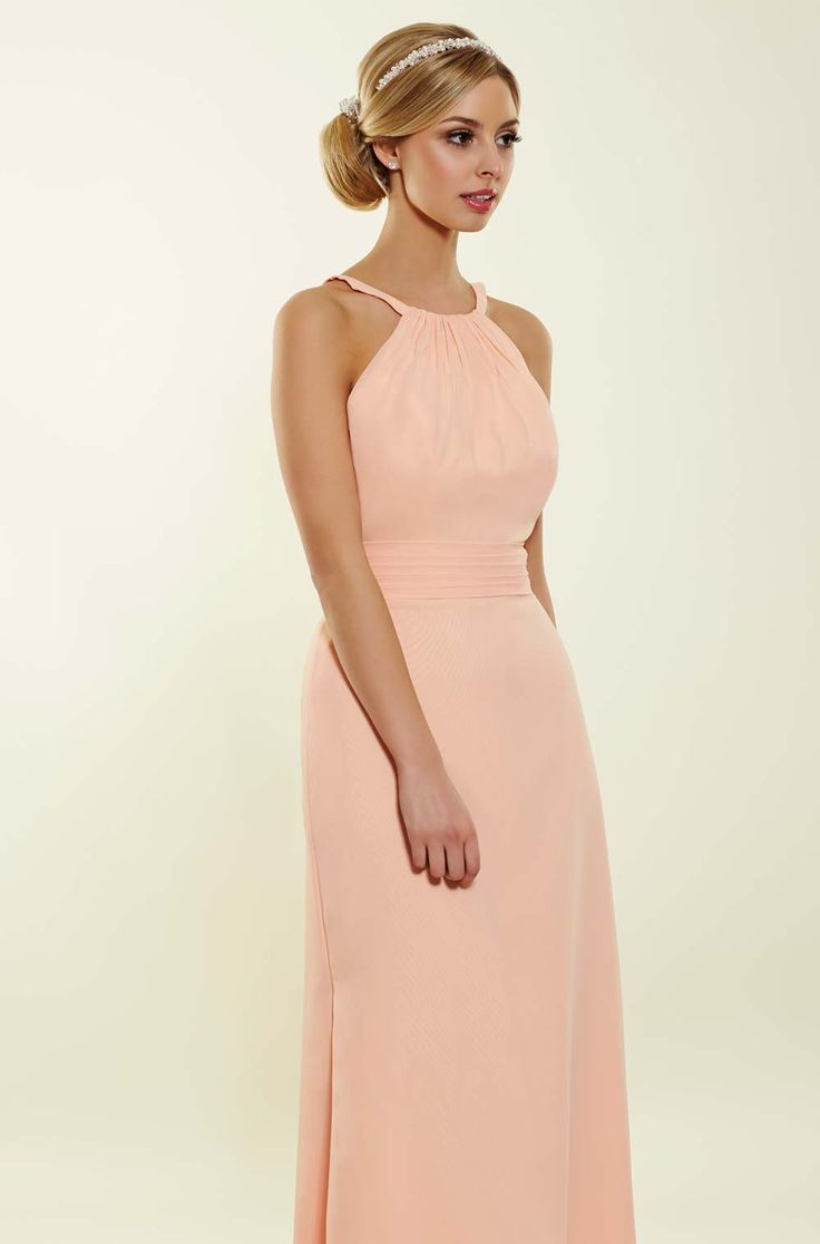 Halterneck bridesmaid dress from Bridesmaids by Romantica