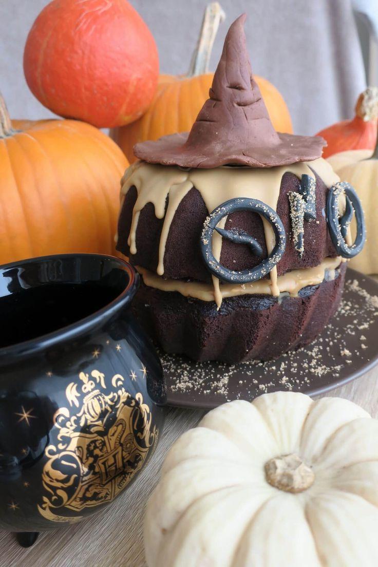 Recette d'un Molly cake au chocolat façon Harry Potter pour Halloween
