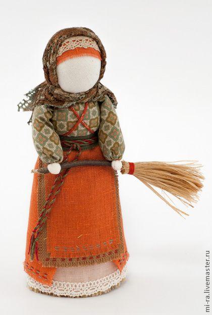 Народные куклы ручной работы. Ярмарка Мастеров - ручная работа Метлушка - очистительная куколка для дома. Handmade.
